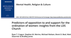 Predictors of opposition to and support for the ordination of wo
